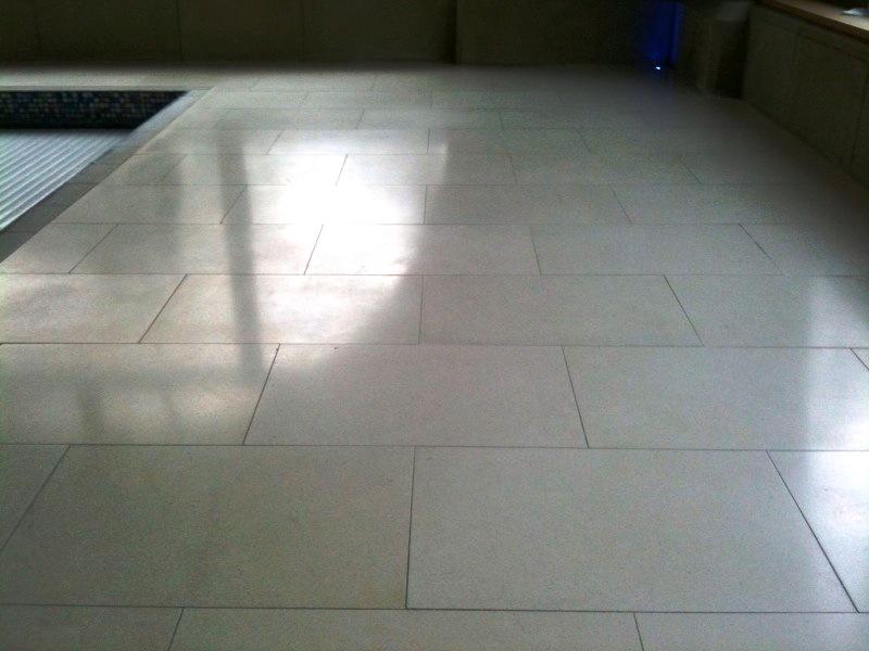 Porcelain Floor Photo After
