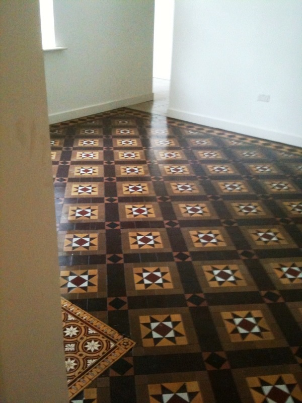 Victorian Floor After Restoration