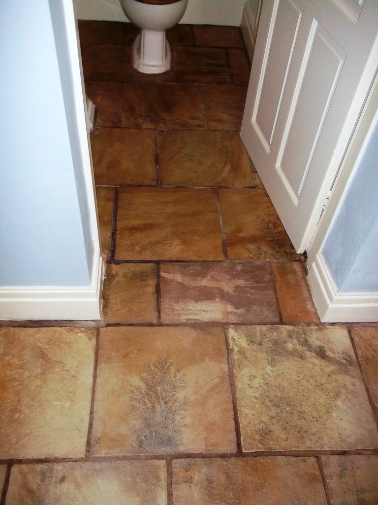 Indian Sandstone WC After