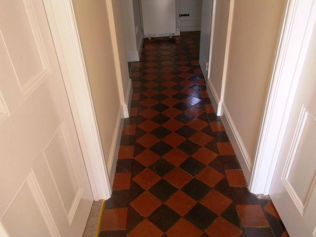 Victorian Tiled Floor After