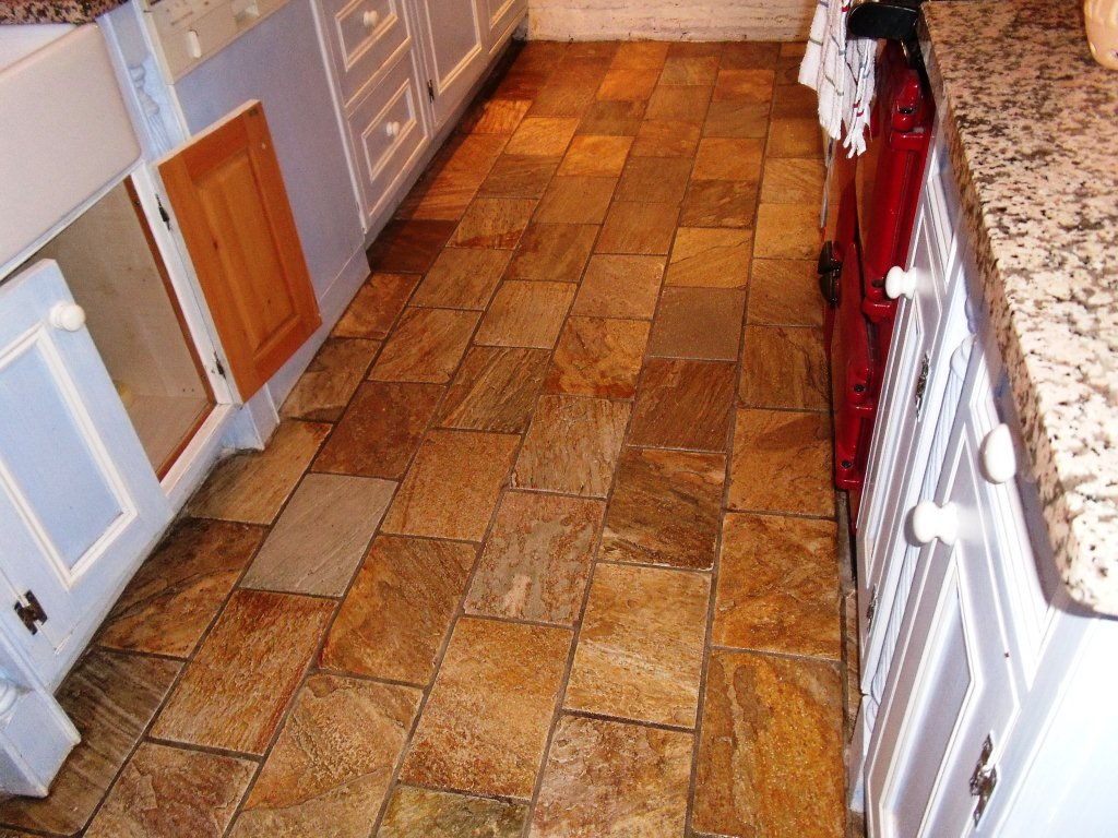 Slate Flooring For Kitchen Tiled Floor Cheshire Tile Doctor