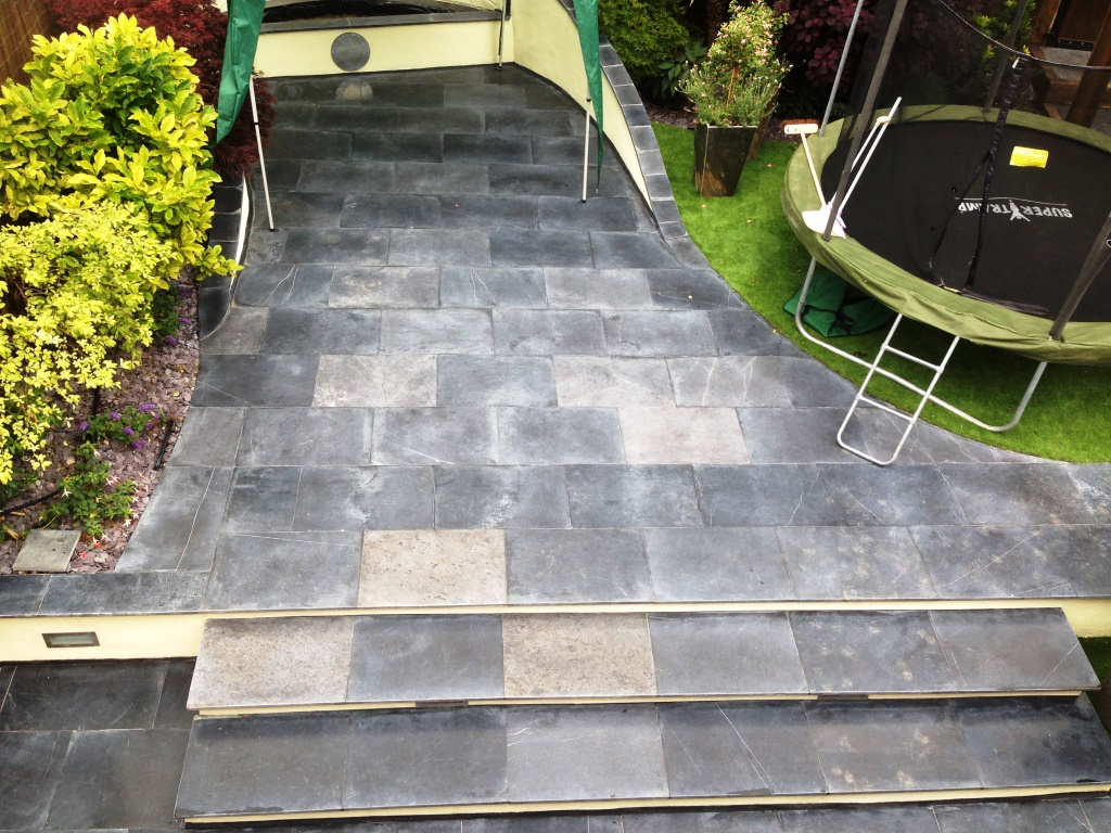 Changing The Sealer On Limestone Patio Tiles